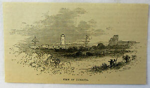 small-1878-magazine-engraving-VIEW-OF-HUMATIA-Paraguay