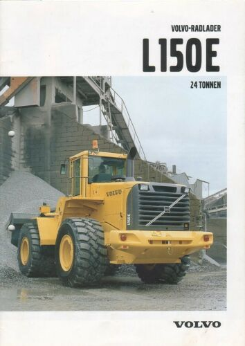 Equipment Brochure - Volvo - L150E - Wheel Loader - Radlader - 2002 (EB594)