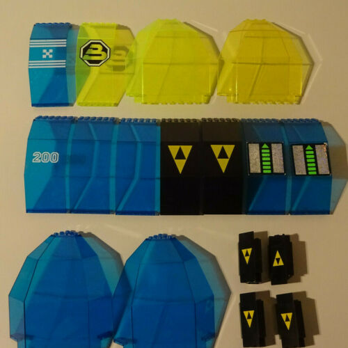 G10 Lego Panel Windscreen 6894 6987 6988 6932 6990 6991 Used Selection Of