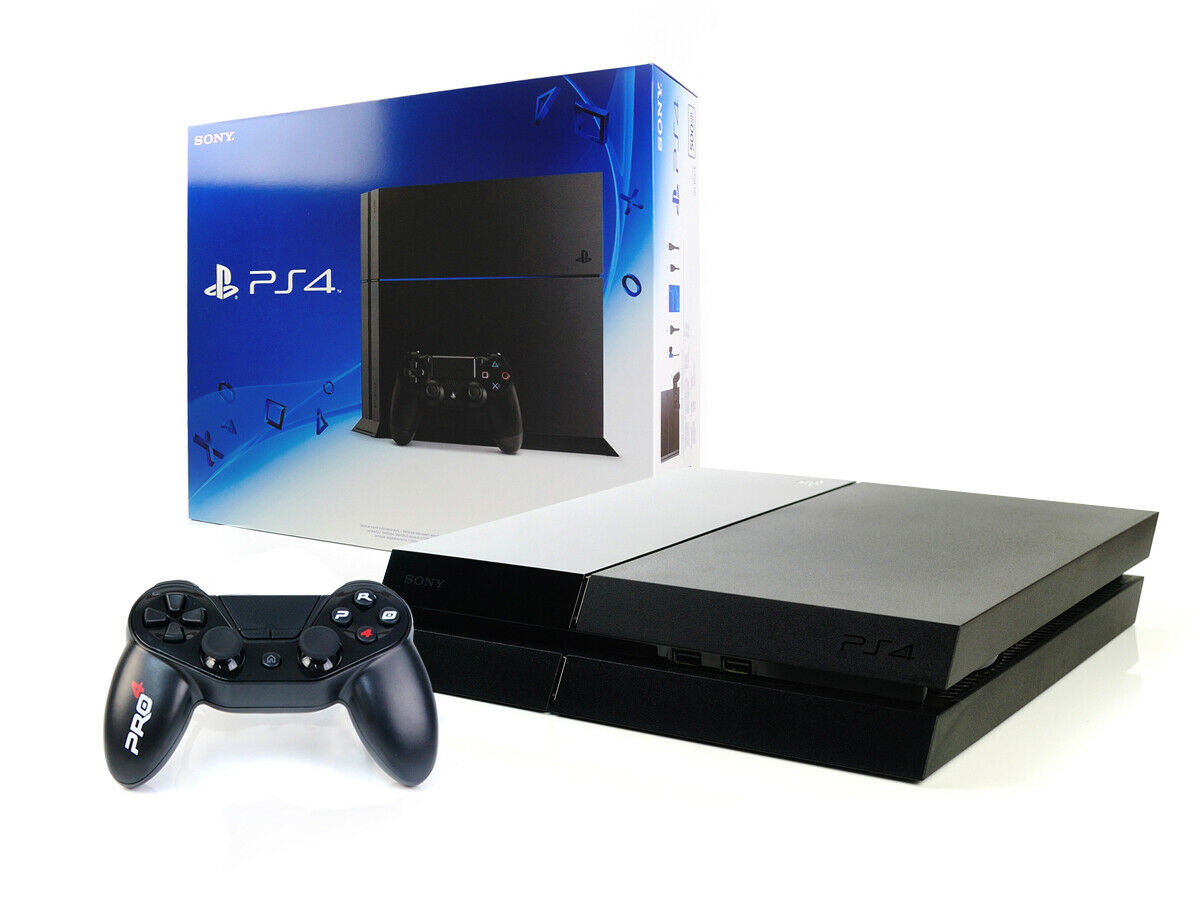 videogiochi e console: SONY PS4 Konsole 500GB +NEUER Subsonic Controller Jet Black – Playstation 4