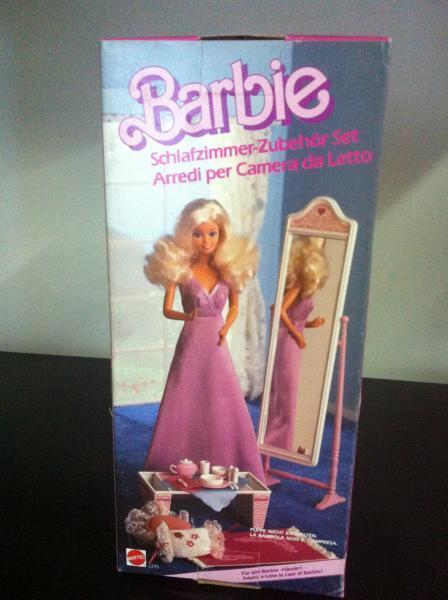 Barbie Ausstattung für Schlafzimmer Schlafzimmer accents  2375 MIB, 1985