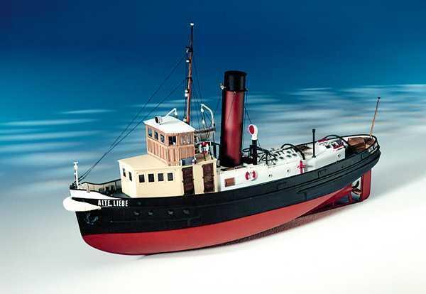 Exquisito, radio control modelo De Barco Kit por caldercraft: la Alte Liebe Harbor remolcador