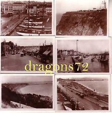 12 x Foto Westfront Frankreich Rouen Strand,Meer,Gebäude+mehr orig