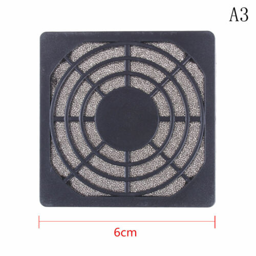 Dustproof 60mm Mesh Case Cooler Fan Dust Filter Cover Grill for PC Computer XU