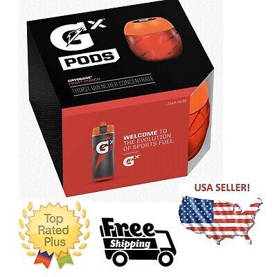 Gatorade GX Pods-Punch Aux Fruits Rouge Lot de 4 — en Stock Maintenant!! * aucune Bouteille *