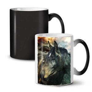 Wild Animal Horse Face NEW Colour Changing Tea Coffee Mug 11 oz | Wellcoda