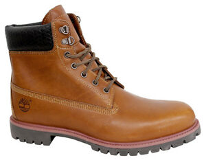 9633b Inch Up D86 Woven Leather 6 Premium Lace Boots Mens Timberland Shoes Brown PqA56xg