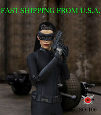 1/6 Catwoman Head Sculpt Clothing Set For Hot Toys PHICEN Female Figure ❶USA❶