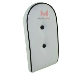 ALSO IN WHITE BLACK REAR CUSHION FOR BICYCLE SISSY BARS NEW