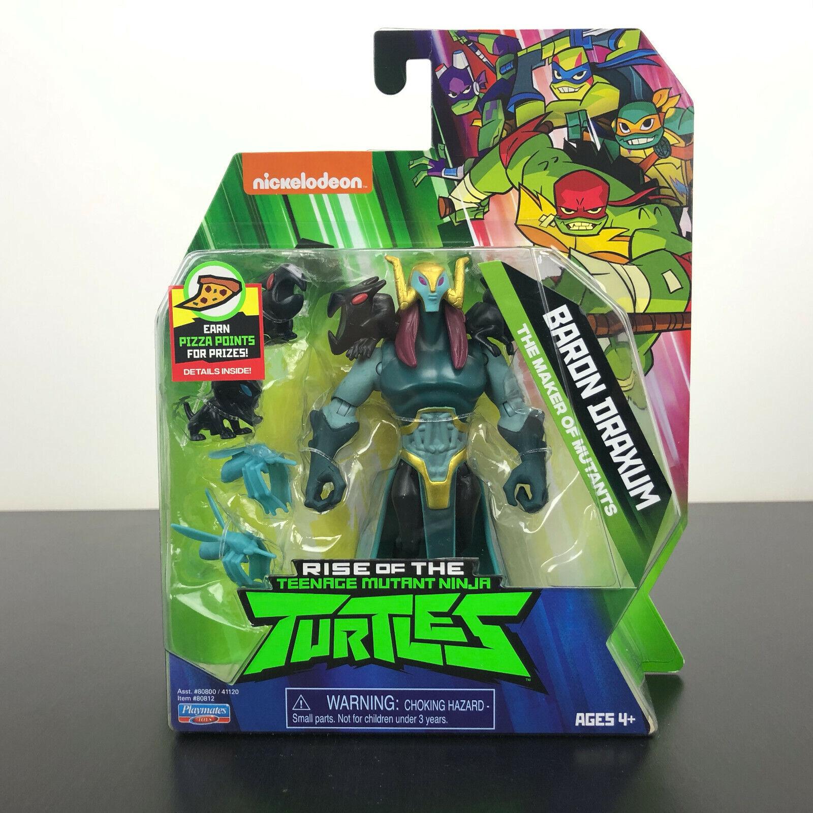 80812 Rise of the Teenage Mutant Ninja Turtles Baron Draxum Action Figure Playmates Inc