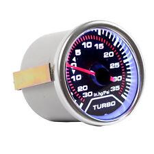 """2"""" 52mm KFZ PSI Anzeige Boost Turbodruck Instrument LED-Lichtleiste HY"""