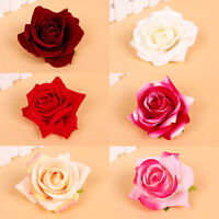 1X Multi Bridal Rose Flower Hair Clip Hairpin Brooch Wedding Bridesmaid  Party