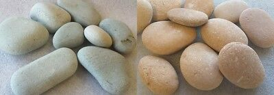 Green or Pink Japanese River Stones 50-130mm  Water Features Ponds P/&P Inc