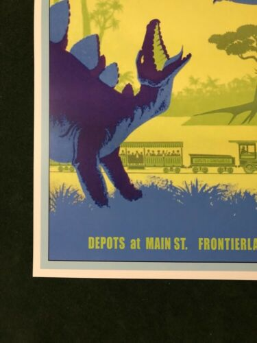 COLLECTOR POSTER 4 DIFFERENT SIZES DISNEYLAND PRIMEVAL WORLD B2G1 FREE!!