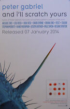 PETER GABRIEL, AND I'LL SCRATCH YOURS POSTER (N6)