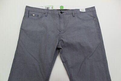 Slim Fit NWT Men/'s Hugo Boss Delaware 3 Stretch Blue Cotton Blend Pants