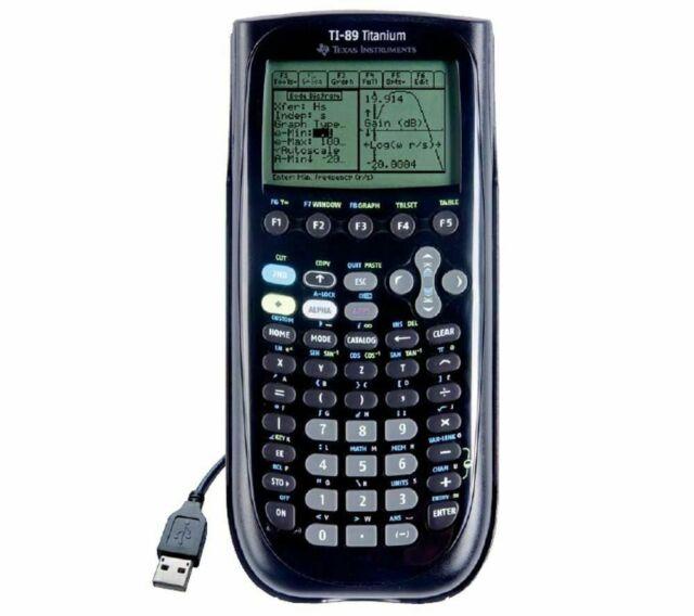 Calculatrice graphique Texas Instruments TI-89 Titanium emballage abîmé