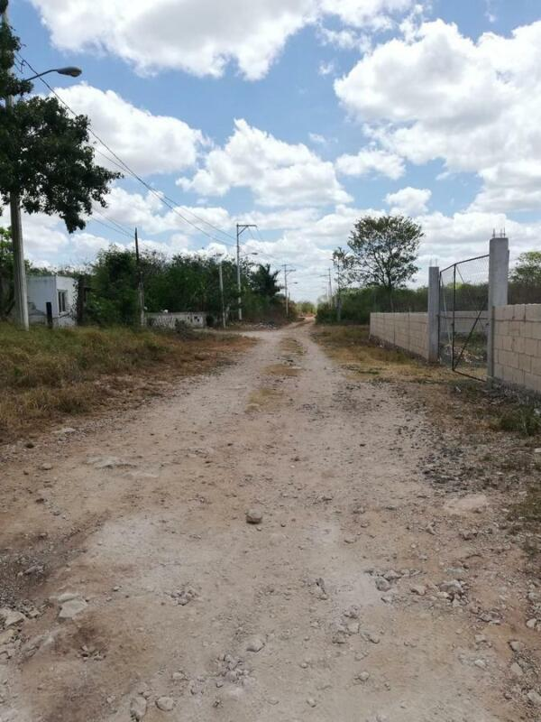 Terreno  de oportunidad en ChiChi Suarez Mérida Yuc.