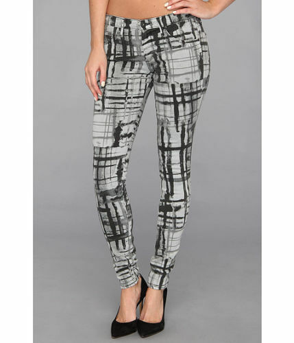 NEW AG Adriano goldschmied The Absolute Legging Jeans, Abstract Grey (Size 24)