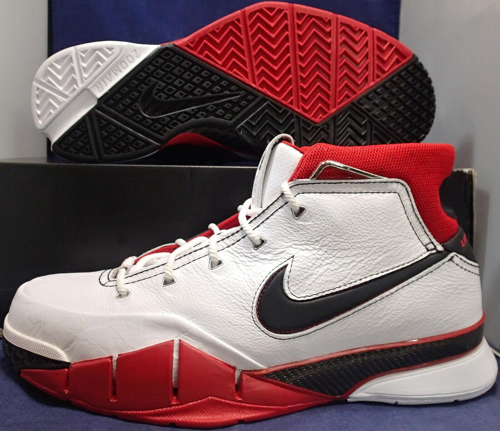 Nike Kobe 1 Protro All Star Weiß Schwarz Rot Sz-10.5 (AQ2728-102)