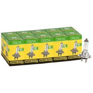 10x-BREHMA-Premium-H7-Longlife-Halogen-Autolampe-Leuchte-Birne-Lampe-12V-55W