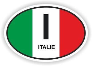 I ITALIE Autocollant OVAL avec drapeau Italien Voiture Caravane Pare-choc coffre - France - État : Neuf: Objet neuf et intact, n'ayant jamais servi, non ouvert, vendu dans son emballage d'origine (lorsqu'il y en a un). L'emballage doit tre le mme que celui de l'objet vendu en magasin, sauf si l'objet a été emballé par le fabricant d - France