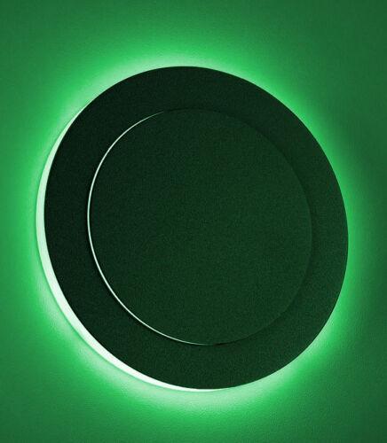 2xLed Treppenstufenbeleuchtung rund anthrazit Duo RGB+KW Einbau 230V Wandlampe