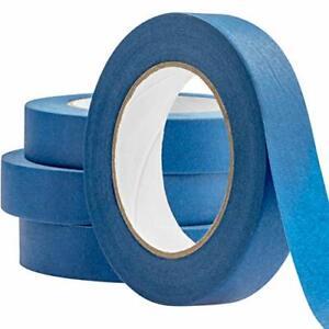 "Easy-Tear, No Residue Blue Painters Masking Tape, 60-Yard Rolls 1"" 2"" Multipacks"