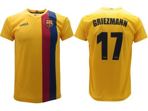 Maglia Calcio GRIEZMANN GIALLA Ufficiale Barcellona 2019-2020 ...