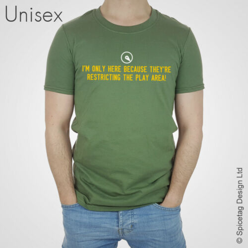 Ristricting l/'aire de jeu T-shirt pubg Inspiré Jeu Vidéo T-Shirt Gamer haut 2018