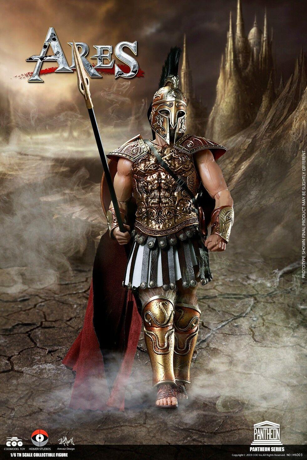 COOMODEL X HOMER 1 6 Pantheon Ares Action Figure GOD OF WAR Model Set HS003 Toy