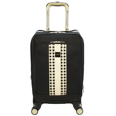 Isaac Mizrahi Fremont collection 20-Inch Carry-On Expandable Spinner Suitcase