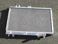 89-94 Mazda Bg 323 Familia Gtx Racing Aluminum Radiator