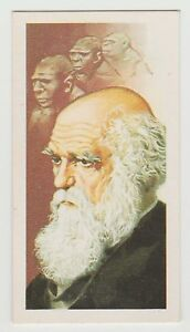 Original-1960s-UK-Trade-Card-Origin-of-Species-Evolution-author-Charles-Darwin