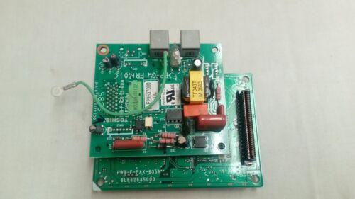 Details about  /PWB F FAX 635N TOSHIBA  Copier Logic Board 6LE2778000//6LE29537000