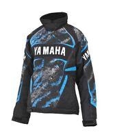 Yamaha Fxr Womens Team Snowmobile Winter Jacket Teal Blue Size 12