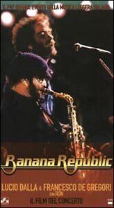 Banana Republic. Lucio Dalla & Francesco De Gregori con Ron (1980) VHS Polygram