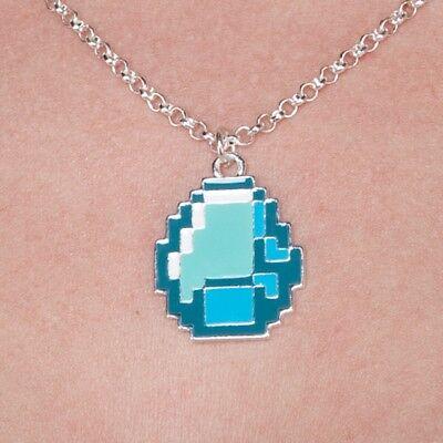 Minecraft DIAMOND//GEM Pendant//Necklace