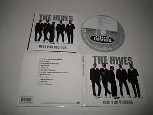 THE-HIVES-VENI-VIDI-VICIOUS-BURNING-HEART-BHR-1055-CD-ALBUM