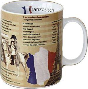 Könitz Mathématiques Wissensbecher Französisch Becher Tasse Kaffeetasse 460ml