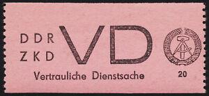 DDR-Dienst-MiNr-D-2-tadellos-postfrisch-Fotoattest-Paul-Mi-2800