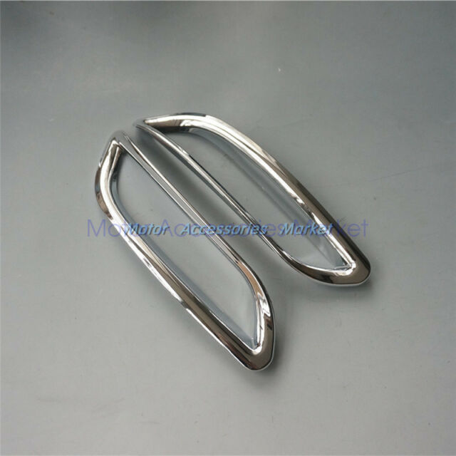 Chrome Rear Fog Light Cover Trim For Toyota Camry 2018 Se Xse Ebay