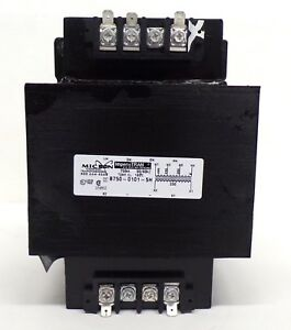Details about MICRON CONTROL IMPERVITRAN TRANSFORMER, B750-0101-5H, on