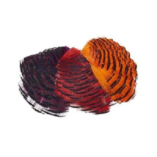 Veniard Golden Pheasant Tippet Half Collar Available in 3 Colours GPTHC