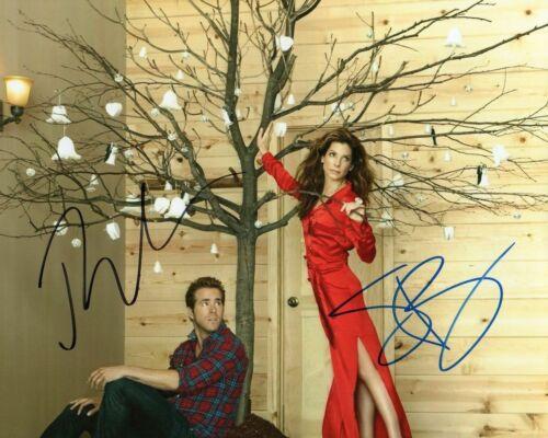 SANDRA BULLOCK /& RYAN REYNOLDS AUTOGRAPHED SIGNED A4 PP POSTER PHOTO PRINT