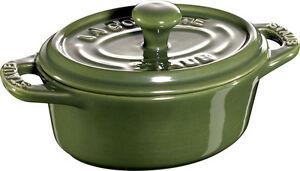 Haben Sie Einen Fragenden Verstand Staub Keramik 6 Er Set Mini Cocotte Oval Basilikumgrün 11cm Auflaufform Souflee Und Verdauung Hilft Möbel & Wohnen