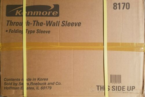 Kenmore 26 in 8170 through the wall folding type A//C sleeve grill /& panel