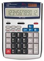 Compucessory Ccs22083 Scientific Calculator, Pc Link, Solar Or Ac, Free Ship
