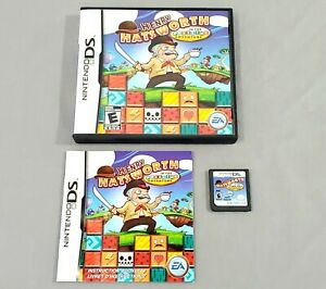 Henry Hatsworth In The Puzzling Adventure (Nintendo DS, 2009) Complete Tested