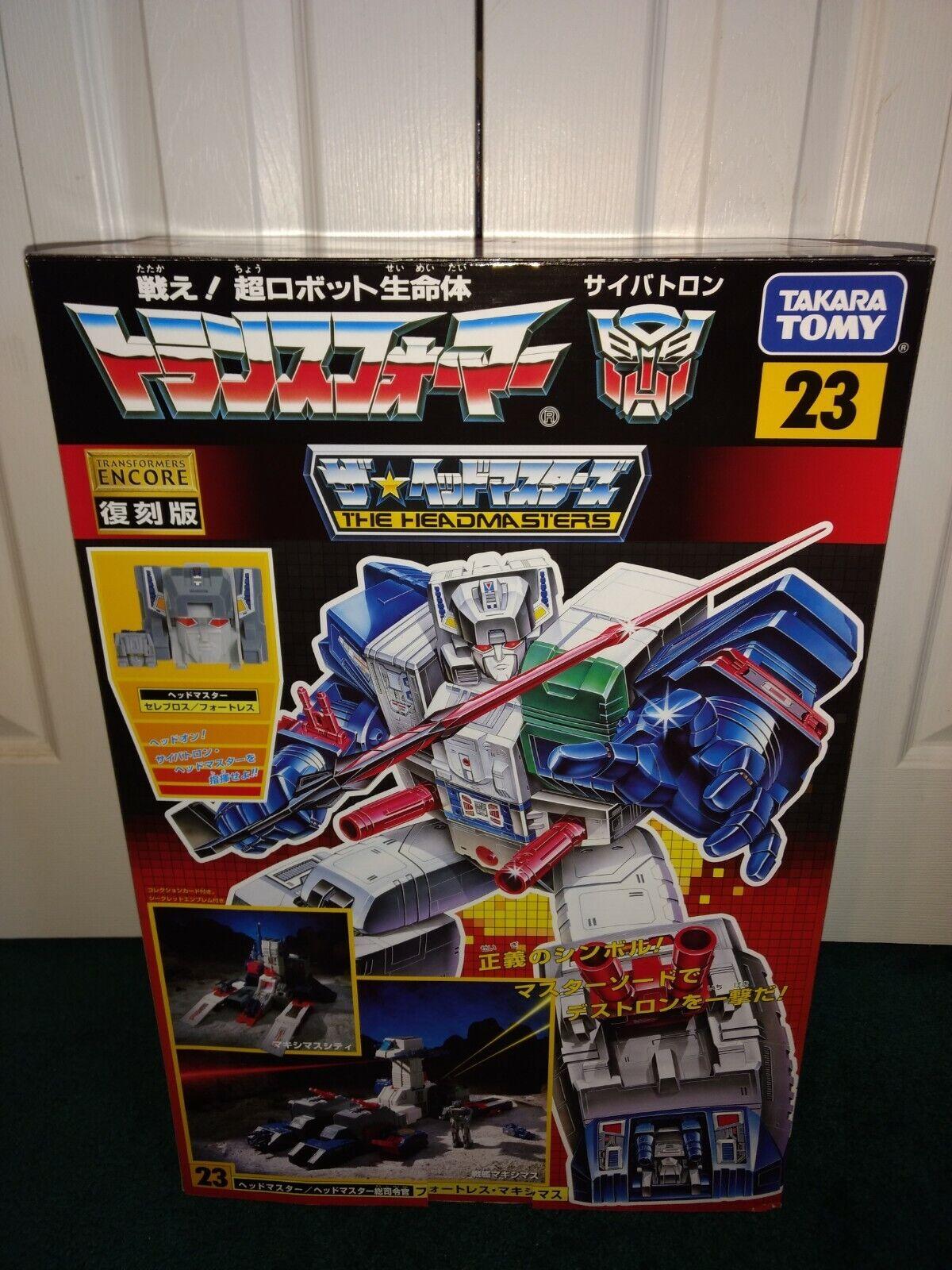 Fortezza Maximus G1 Reissue Encore 23 Transformers Takara 2013 MISP Sigillato